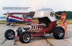 Tom Daniel's Red Baron Hot-Rod (1969) - Blog