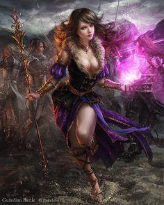 Nous vous présentons aujourd'hui une sélection d'illustrations de la talentueuse artiste Laura Sava. Cette spécialiste de la fantasy nous propose des oeuvres très détaillées avec des palettes de couleurs superbes. Ses character-design sont très réussis. Pour en voir davantage, visitez son blog, sa page Facebook et son DeviantArt.