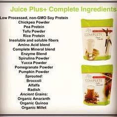 Juice Plus Complete shakes... http://www.transform30.com/rep/sherryroy1/index.php www.lety.juiceplus.com