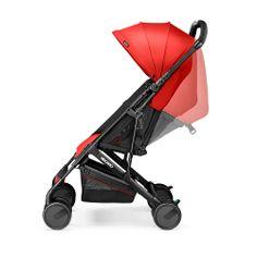 Спинка коляски Recaro Easylife регулируется ремешками от 100° до 150°