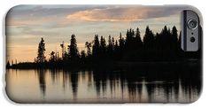 Sunset Silhouette At Cottonwood Lake Colorado