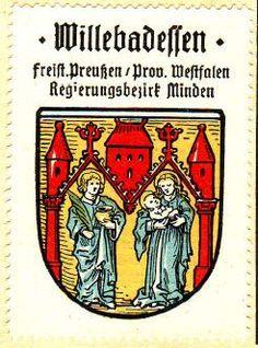 Willebadessen - Heraldry of the World, Wappen, Gemeindewappen, Crest, Arms