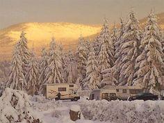 Harz Wintercamping Schierke