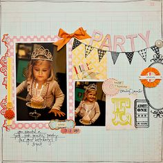 #papercraft #scrapbook #layout by maggie holmes