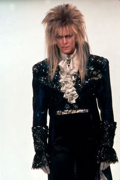 Jareth the Goblin King ( David Bowie) is still my favorite character in the movie...even though he's evil...