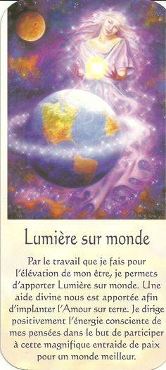 Mario Duguay- Message Lumière Lumière sur monde Messages Spirituels, Poem Quotes, Visionary Art, Oracle Cards, Osho, Self Development, Positive Affirmations, Self Help, Zen