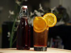 DIY Pimms:  1 navel orange  1 teaspoon dried bitter orange peel (optional)  3/4 cup London dry gin  1 cup sweet vermouth