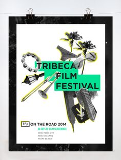 On the Road: Tribeca Film Festival by Maggie Lee, via Behance https://www.behance.net/gallery/11762251/On-the-Road-Tribeca-Film-Festival