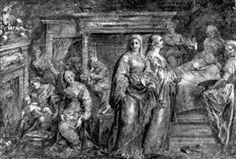 The Nativity of the Virgin Mary - Peter Paul Rubens