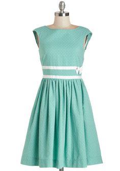teal Bea & Dot dress