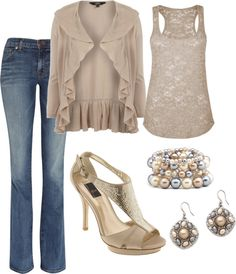 """champagne"" by heather-harristx on Polyvore"