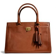 The Legacy Large Chelsea Carryall In Leather : Coach