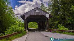 Power House Covered Bridge in Johnson Vermont  #vermont #newenglandphotography #newengland #landscape #newengland_photography #ScenicVermontPhotography #ScenicVermont #VT #Ilovermont