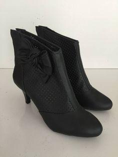 bota turim - salto 7 cm preto 40 - botas alexia fernanada