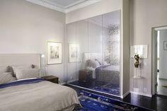 Sovrum med vackra italienska garderober
