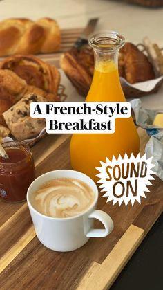 Breakfast Snacks, Sweet Breakfast, Breakfast Dishes, Breakfast Recipes, Chocolate Croissant, Night Food, Flaky Pastry, Quick Weeknight Meals, Weird Food