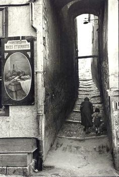 "firsttimeuser: "" Henri Cartier-Bresson. Briançon, France, 1951 """