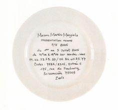 Maison Martin Margiela Show Invites Fashion Show Invitation, Graphic Design Typography, My New Room, Packaging Design, Art Photography, Decorative Plates, Invitations, Instagram, Home Decor