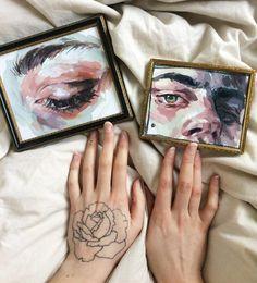 "18.5 mil Me gusta, 62 comentarios - Elly Smallwood (@ellysmallwood) en Instagram: ""Eye studies"""
