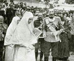 Grand Duchess Elisabeth Feodorovna Romanova of Russia and Grand Duke Konstantin Konstantinovich Romanov of Russia.A♥W