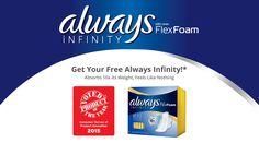 Always Infinity FlexFoam Sample for free   Bargain Hound Daily Deals