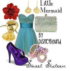 """Little Mermaid"" by lalakay on Polyvore"