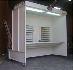Cabine de pintura Eletrostática