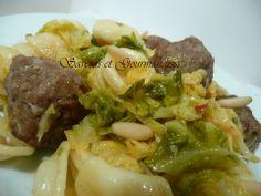 Saveurs et Gourmandises: Boulettes de viande aux orecchiette et chou vert façon Gordon Ramsay.