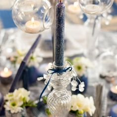 We've long had in mind to use our Winter Fairytale collection in a styled shoot… Wedding Decorations, Table Decorations, Blue Christmas, Grand Hotel, Event Design, Wedding Designs, Wedding Details, Fairytale, Pastel