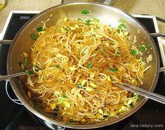 Korean Dishes, Japanese Dishes, Korean Food, Japanese Food, Spicy Recipes, Healthy Recipes, Vegetable Seasoning, Food Design, Japchae