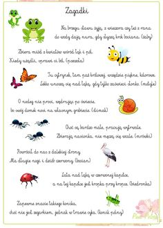 Polish Language, Kids And Parenting, Activities For Kids, Diy And Crafts, Kindergarten, Kids Room, Classroom, Teaching, Education
