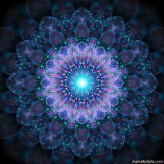 Mandala Art, Mandala Painting, Purple Art, Psychedelic Art, Fractal Art, Sacred Geometry, Art Tutorials, Fantasy Art, Cool Art