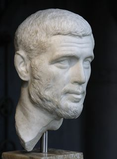 Portrait of an unknown man. Ancient Rome, Ancient Art, Ancient History, Roman Sculpture, Sculpture Art, Roman History, Art History, Sculpture Romaine, Roman Man