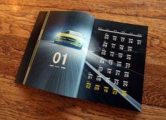 SLS E-Cell 2011 Calendar / Mercedes-Benz