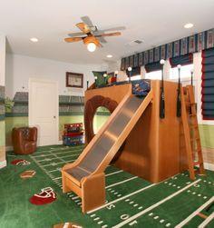 Wunderbare Kinderzimmer - 8 Ideen für Kinderhochbetten - #Kinderzimmer