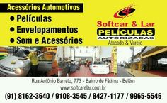 Www.softcarelar.com.br - Atacadistas de Peliculas  ,Adesivos ,Ferramentas para Instalar e Acessórios Automotivos .Temos clientes lojistas e instaladores profissionais em todo Pará e Amapá para indicar . Economize já! !!