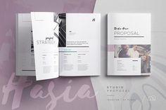 Lookbook - Inara | Creative InDesign Templates ~ Creative Market