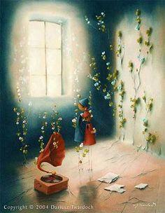 DARIUSZ TWARDOCH - twardoch.art.pl #twardoch #pastels #illustrations #painting