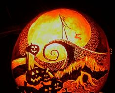 halloween pumpkin carvings