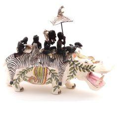 Ardmore ceramics: Hippo Rider