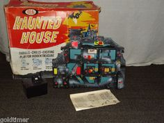 1962 Vintage Ideal Toys Haunted House game.