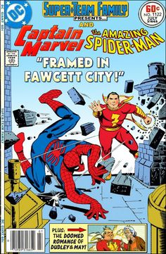 Super-Team Family: The Lost Issues!: Captain Marvel and Spider-Man