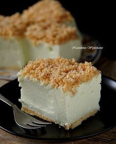 Nastoletnie Wypiekanie: Ciasto Śnieżny puch Polish Desserts, Polish Recipes, Cookie Desserts, No Bake Desserts, Sweet Recipes, Cake Recipes, Cheesecake, Delicious Deserts, Dessert For Dinner