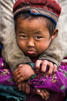 "Life depends on depending on one another. (Little ""Tamang"" Girl by mitchellk81, via Flickr)  http://www.flickr.com/photos/mitchellk/1341714410/"