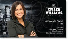 Cool Keller Williams Business Card