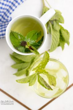 #Ad - Lovely Tea | This Fresh Mint Tea recipe is light, so easy to prepare and delicious to enjoy. All you need is fresh mint leaves, boiling water and a few minutes and then you can be some Fresh Mint Tea! Enjoy hot or cold. #ForWhatMattersMost #CollectiveBias @target @TYLENOL www.lifeslittlesweets.com