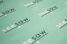 Logo Design for Seesaw, Western Australia's art playground