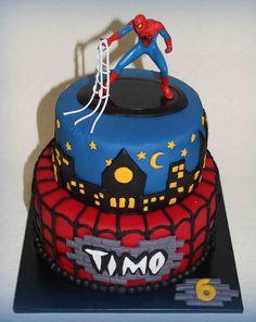 tortas de spiderman - Buscar con Google