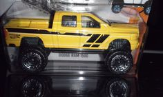 HOT WHEELS 2016  HOT TRUCKS    DODGE RAM 1500 #HotWheels #Dodge