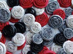 Wedding paper flowers set of 50 handmade roses CUSTOM by ilovethis, $25.00